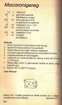 Rainbow Gospel Radio | Macaronigereg Hot Dog Recipes, Bacon Recipes, Pasta Recipes, Appetizer Recipes, Cake Recipes, Cooking Recipes, Easy Pasta Dishes, Savoury Baking, South African Recipes