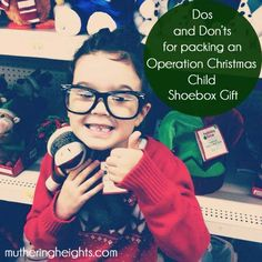 Muthering Heights: OCC Shoebox Dos and Don'ts