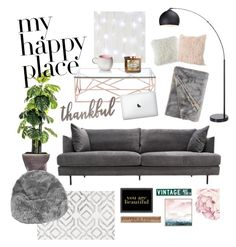 """""""☺️❤"""" by sophiemore ❤ liked on Polyvore featuring interior, interiors, interior design, home, home decor, interior decorating, Laura Ashley, Zuo, nuLOOM and Americanflat"""