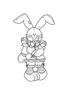 Whimsy Stamps - Rubber Stamps, Clear Stamps, and Whimsy Stamps, Digi Stamps, Hand Embroidery Patterns, Embroidery Designs, Egg Crafts, Animal Cards, Tampons, Coloring Book Pages, Colorful Drawings