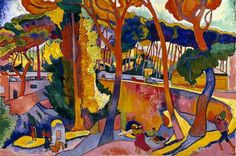 ANDRÉ DERAIN French, 1880 - 1954 The Turning Road, L'Estaque 1906 Oil on canvas