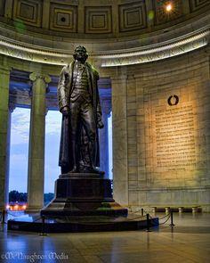Inside The Thomas Jefferson Memorial, Washington, D.C.