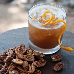Pecan infused Bourbon