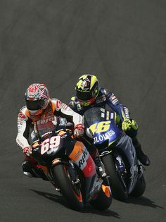 MotoGP. 2006- a fight between Rossi + Hayden. It seemed it was going in Hayden's favour until his teammate Dani Pedrosa tried a stupid overtake causing them both to crash out. The title was there to be taken by Valentino. In the next race, seemingly without reason, Rossi crashed out leaving Hayden to take the title for Repsol Honda. The team thanked him by building a bike that didn't fit him (built to Pedrosa dimensions) then sacking him. 5yrs in the wilderness later they won again with…