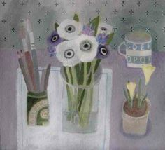 February Still Life by Jill Leman RWS