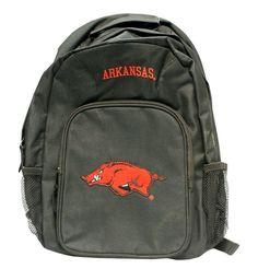 Arkansas Razorbacks Backpack Southpaw Style Black