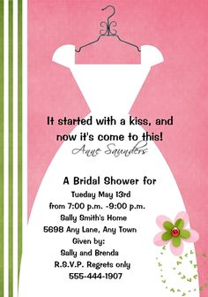 Bridal Showers Invites