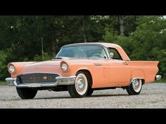 ▶ 1957 Ford Thunderbird Convertible - Past AACA Grand National Award winner - For Sale at RM (HERSHEY) - YouTube