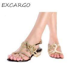 Genuine Leather Low heeled Butterfly Women Rhinestone Shoes AliExpress.com