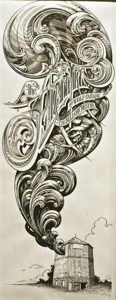 CdC Letras, Carteles by Aaron Horkey 06/25