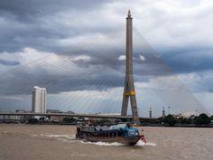 Rama VI Bridge, Bangkok. 29mm, 1/1000 sec., f - stop 10