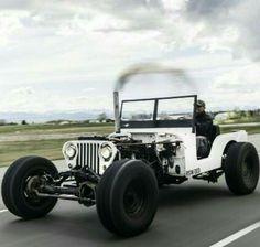 Rat Rod Jeep!