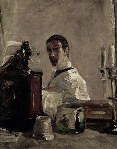 Henri de Toulouse-Lautrec - Self Portrait 1880