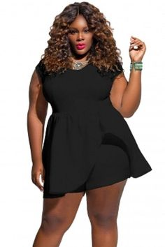 558fac60598 Summer Plus Size Jumpsuits And Rompers For Women color sexy round collar  woman jumpsuits with short sleeves Buzos Mujer Macacao