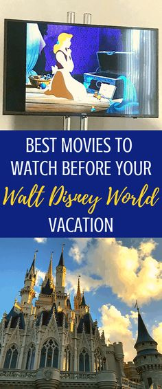Movies to Watch Before Going to Disney World No-Guilt Life - - Before you take your family to Walt Disney World, do a little homework! Here's a list of movies to watch before going to Disney World. Disney World Resorts, Disney World Facts, Best Disney World Restaurants, Disney World Tipps, Disney World Florida, Disney World Tips And Tricks, Disney Vacations, Disney Trips, Disney World Secrets
