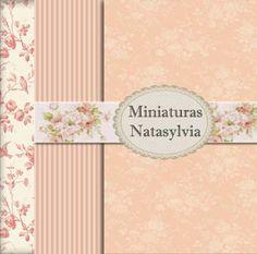 Miniaturas Natasylvia: French Vintage Rose Chateau