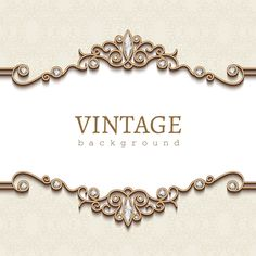 Vintage golden background with diamond vector Golden Background, Background Vintage, Free Vector Backgrounds, Vector Free, Diamante Logo, Jewelry Frames, Gold Jewelry, Boarder Designs, Diamond Vector