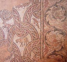 Basilica paleocristiana, Plaošnik, Ocrida, Macedonia, mosaici del IV–VI secolo