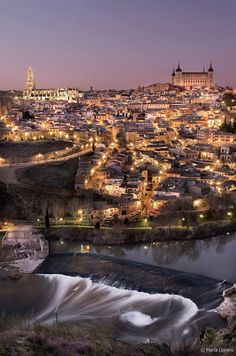 Holy city of Toledo in Spain