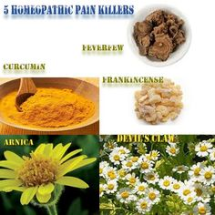 Homeopathic pain killers