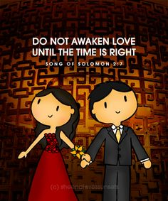 When the time is right.... God will bring that right person along <3