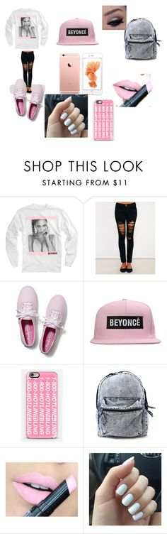 """""""Beyoncé"""" by saniya-comas ❤ liked on Polyvore featuring Wet Seal, Keds, Casetify and Fiebiger"""