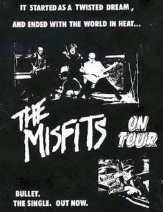 Rock Posters, Band Posters, Concert Posters, Misfits Band, Proto Punk, Minor Threat, Danzig Misfits, Glenn Danzig, Him Band