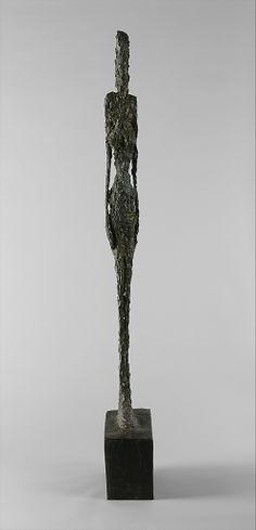 Tall Figure Alberto Giacometti (Swiss, Borgonovo 1901–1966 Chur) Date: 1947 Medium: Bronze