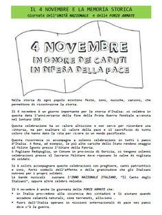 4 novembre – Maestra P. Italian Language, Education, History, Blog, 3, Anna, Halloween, Geography, Musica