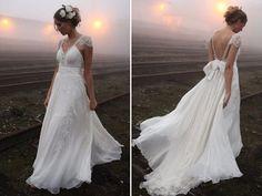 Qual vestido usar para um casamento no campo?