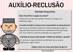 Auxílio-Reclusão #Direito #ConcursosPublicos