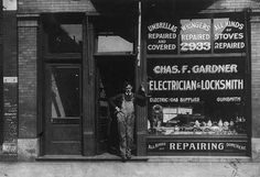 """Described as being the """"Only Negro store of its kind in the U.S., at 2933 State St., Chicago, Ill."""" c1899."""