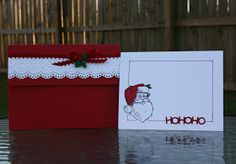 Ideas for Scrapbookers: Christmas Card Boxes!
