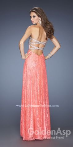 Dazzling Lace Prom Dress