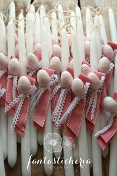 think...pink! Easter Candle, About Easter, Candels, Easter Crafts For Kids, Spring Crafts, Easter Bunny, Diy And Crafts, Pink, Baby
