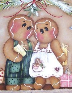 Gingerbread Painting Patterns | Christmas Door Crown Gingerbread Painting Pattern | eBay