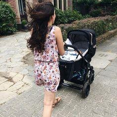 thanks @sherryloribite  #abcdesign #thinkbaby #turbomoments #walking #windy #street #kinderwagen #stroller #like #baby #instagood #photooftheday #abcdesign_turbo4s #turbo4s