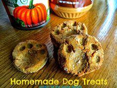 Cookin' For the Seven Dwarfs: Homemade Dog Treats
