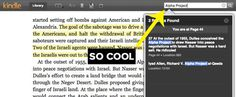 Read Kindle books online at read.amazon.com. When you're writing a paper, you can search for keywords in the book and easily find quotes to support the argument you're trying to make. | 19 Internet Hacks Every Student Should Know