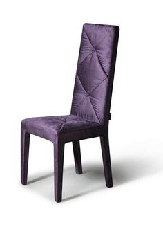 The satin sheen of this chair compliments the elements of shine throughout the home.