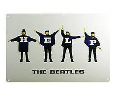 Chapa Retro Beatles - 20x30 II