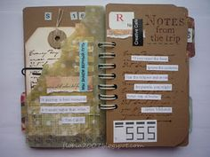 Another travel journal idea
