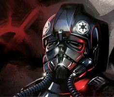 Star Wars Black Imperial Tie Fighter StormTrooper art