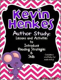 *Freebie* Kevin Henkes Author Study - Milestone Celebration - This week ONLY