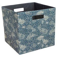 "Fabric Cube Storage Bin 13"" - Threshold : Target"