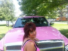 My pink truck