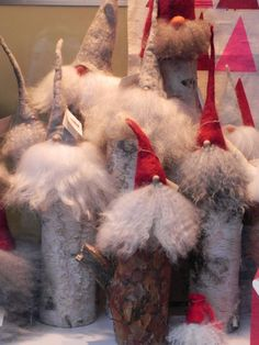 Christmas Tomte. Stockholm, Sweden. Photo by pgrbydand
