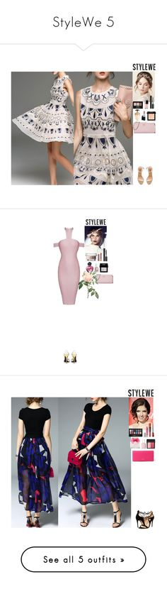 """""""StyleWe 5"""" by eliza-redkina ❤ liked on Polyvore featuring stylewe, NYX, Chanel, Givenchy, MAC Cosmetics, Prada, YEEZY Season 2, outfit, like and look"""