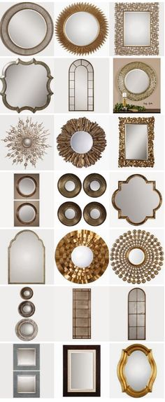 Diy sunburst ceiling medallion ikea honefoss mirrors for Miroir autocollant ikea