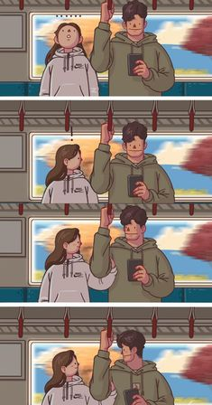 Love you is my happiness Cute Couple Comics, Couples Comics, Comics Love, Cute Couple Art, Anime Love Couple, Couple Cartoon, Cute Comics, Anime Couples, Cute Couples
